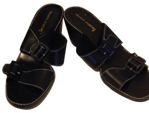 Franco Fortini Black Sandals
