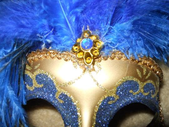 unknown Mardi Gras/masquerade feather mask