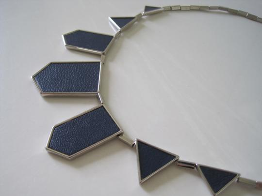 House of Harlow 1960 HoH Five Station Necklace Navy