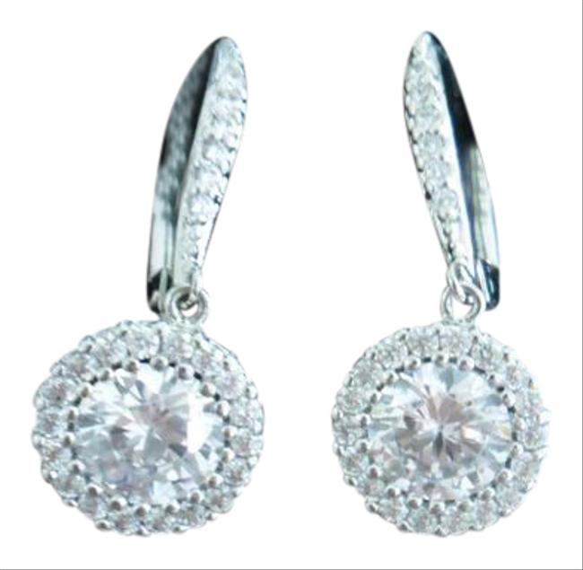 Clear New Stunning Halo Earrings Clear New Stunning Halo Earrings Image 1