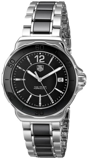 Preload https://item3.tradesy.com/images/tag-heuer-tag-heuer-women-s-formula-one-watch-in-black-and-silver-wah1210ba0859-5573482-0-0.jpg?width=440&height=440