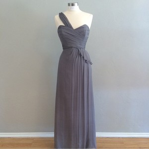Amsale Graphite G763c Dress