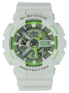 G-Shock G-Shock Men's GA110TS-8A3 Grey Digital watch with Grey Dial