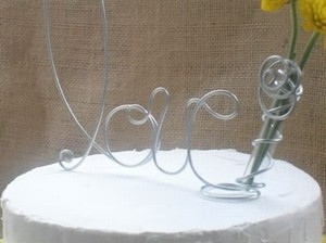 Silver ~wired Letters Of