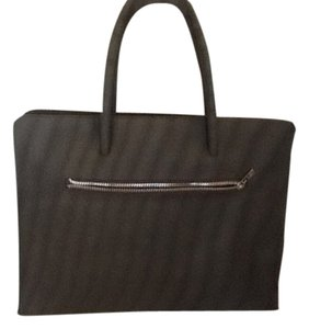 Paul Smith Tapestry Design In Fabric Tote in Black