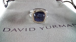 David Yurman David Yurman Albion Ring with Amethyst and Diamonds, size 7