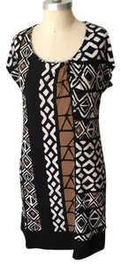 Banana Republic short dress Neutral Easy To Wear Tribal Matte Jersey on Tradesy