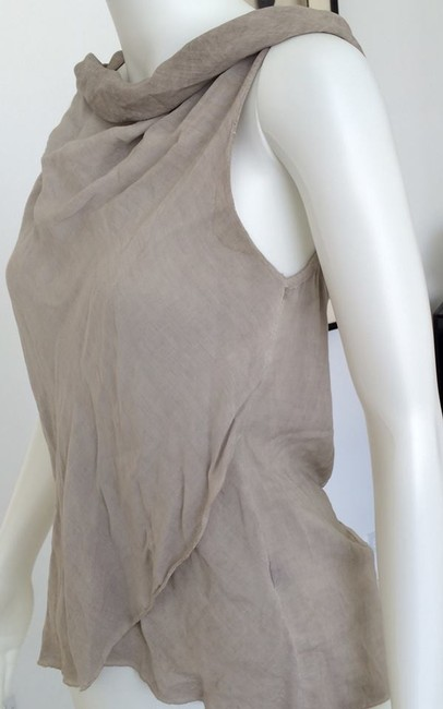 Made in Italy Top taupe