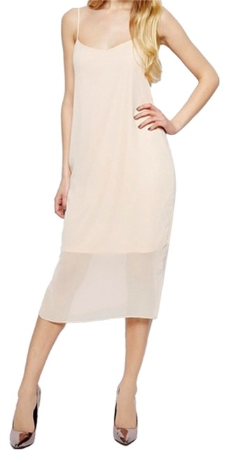 Preload https://item4.tradesy.com/images/asos-nude-mid-length-cocktail-dress-size-4-s-5574973-0-0.jpg?width=400&height=650