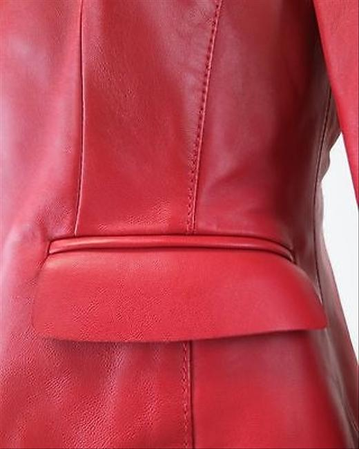 Valentino Leather RED Jacket