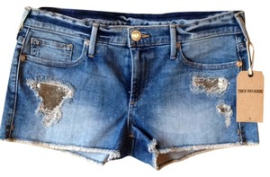 True Religion Cut Off Shorts Crystal Cove Beach
