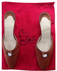 Christian Louboutin Mule Brown Pumps