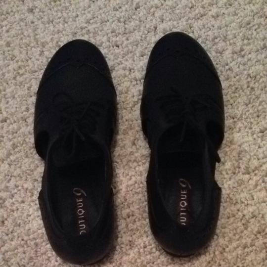 Boutique 9 Black Flats