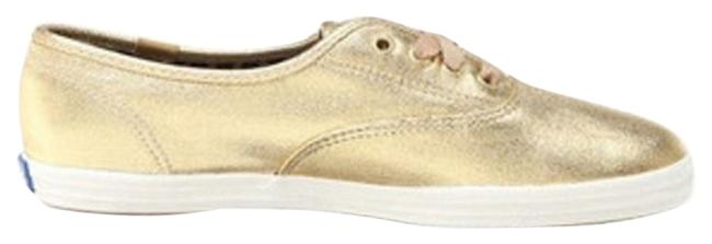 Item - Gold Shimmer Sneakers Size US 10 Regular (M, B)