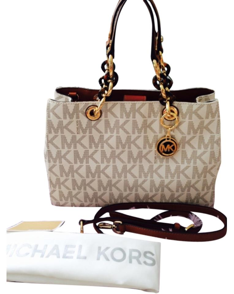 Michael Kors Handbags New Pvc 2017 Satchel Cynthia