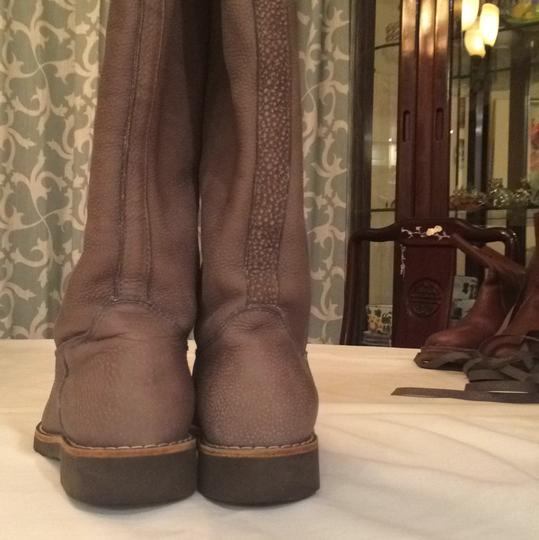 Roots Gray Boots