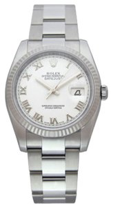 Rolex LADIES ROLEX DATEJUST STAINLESS STEEL WATCH WITH ROLEX BOX & APPRAISAL