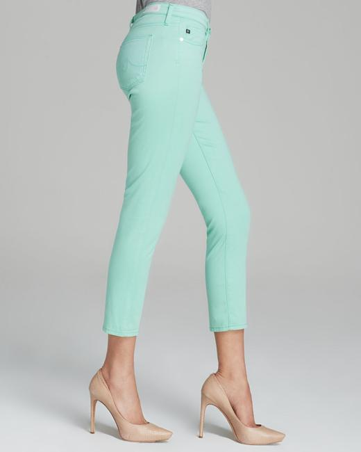 AG Adriano Goldschmied Pants Cropped Cropped Pants Mint Capri/Cropped Denim