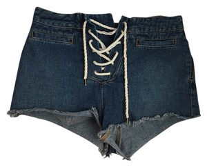 BDG Urban Outfitters High Waisted Cut Off Shorts Vintage Denim Medium