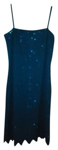 Onyx Nite Bead Embellishment Dress