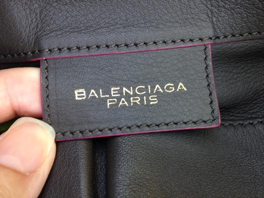 "Balenciaga Strap Drop 7"" Tote in Black"