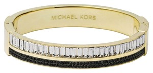 Michael Kors Michael Kors Brilliance MKJ3819 Pave Crystal Gold Bangle Bracelet