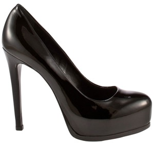 Kelsi Dagger Patent black Pumps