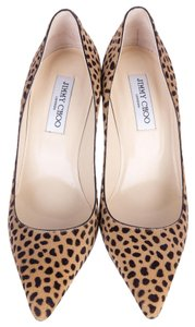 Jimmy Choo 39.5 Chanel 39.5 Brown Pumps