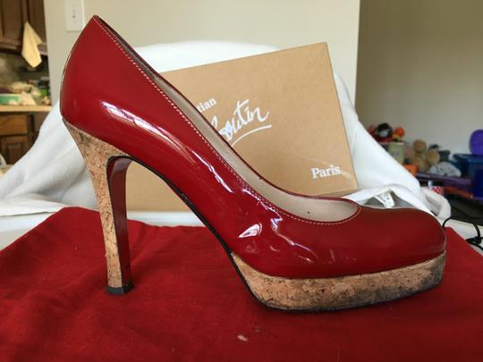Christian Louboutin Red Pumps