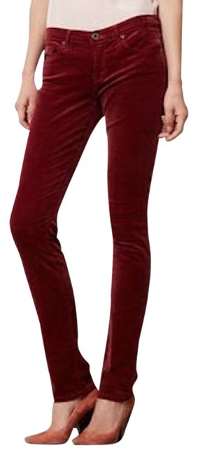 Item - Wine The Stevie Corduroy Pants Size 4 (S, 27)