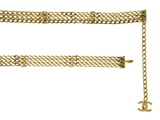 Chanel Chanel Gold Multi-Strand Vintage Belt