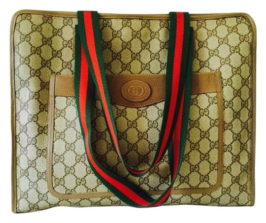 Preload https://item1.tradesy.com/images/gucci-gg-pattern-shoulder-italy-vintage-brown-tote-5578420-0-0.jpg?width=440&height=440