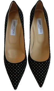 Jimmy Choo New 39.5 Black Pumps