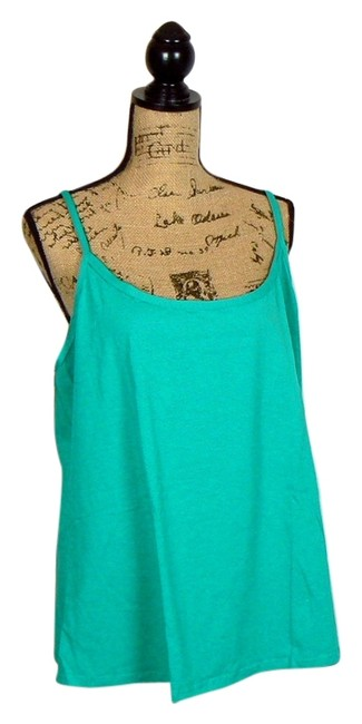 Preload https://item1.tradesy.com/images/jessica-london-plus-size-new-free-tank-top-teal-5578675-0-0.jpg?width=400&height=650