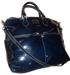 Dooney & Bourke Satchel in Midnight Blue