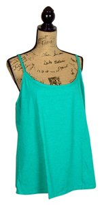 Jessica London Yoga Cami Fitted Top Green Jade