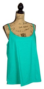 Jessica London Yoga Cami Teal Top Green Jade