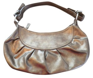 Nine West Metallic Leather Shoulder Bag