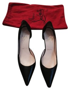 Christian Louboutin Red Black Hot New Louboutin Pumps