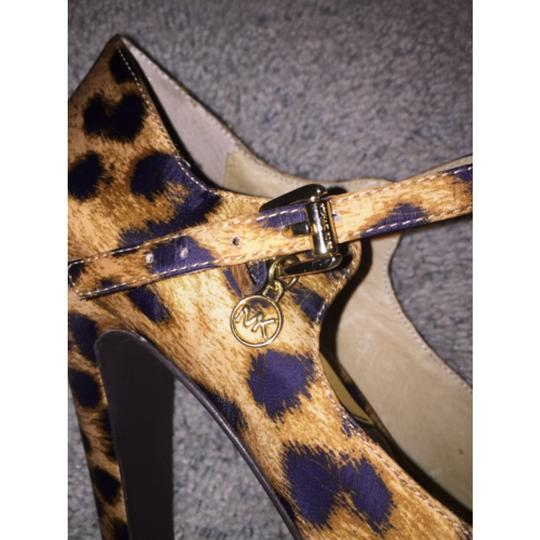 Michael Kors Cheetah Platforms