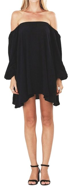 Faithful the brand short dress navy Off Shoulder Off Shoulder Boho Bohemian Festival Blue Mini on Tradesy