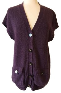 Tory Burch Button Down Shirt Plum