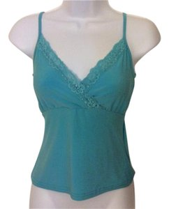 Claudia Richard Cami Top Turquoise