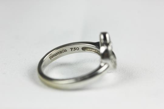 Tiffany & Co. Paloma Picasso 18k White Gold Heart Ring with Diamonds