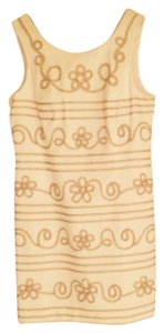 Lilly Pulitzer short dress White and Gold on Tradesy