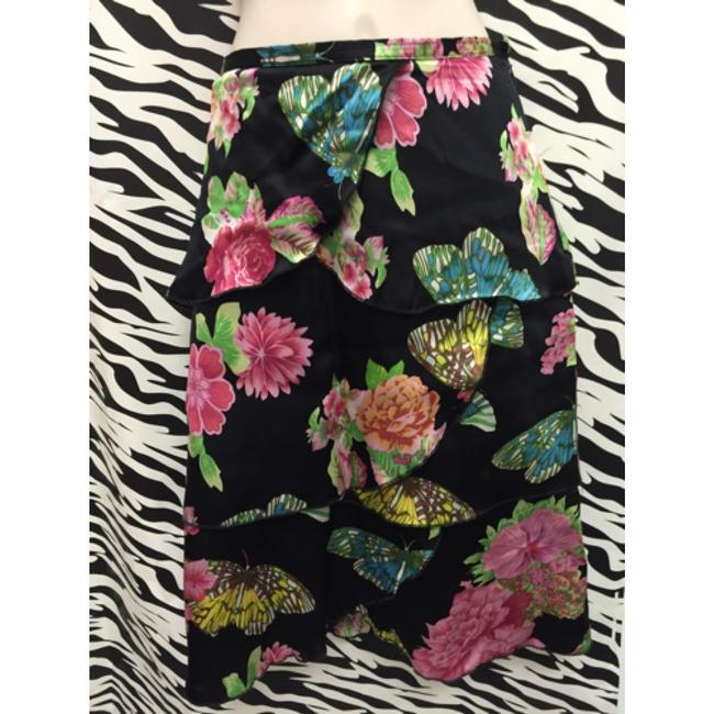 Karen Kane Skirt Black and multi