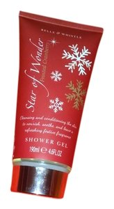 BELLE&WHISTLE STAR OF WONDER FROSTED CRANBERRY SHOWER GEL