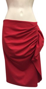 New York & Company Skirt Red