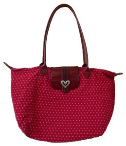 Brighton Travel Longchamp Tote in red