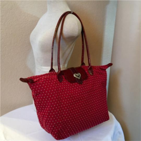 Brighton Travel Shoulder Purse Longchamp Tote in red